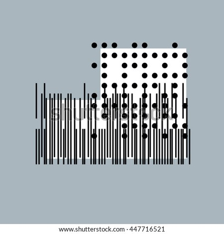 piano chord diagrams standard major minor stock vector