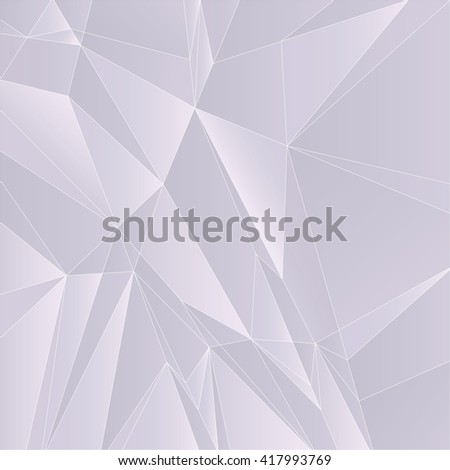 Abstract Geometric Light Purple Background. Vector Illustration. - stock vector