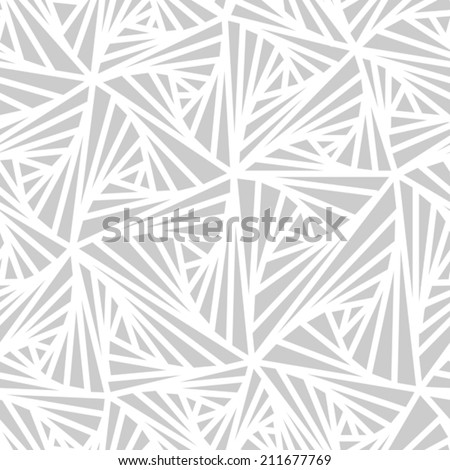 Abstract Geometric Light Vector Pattern - stock vector