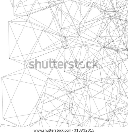 abstract geometric linear background