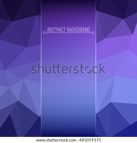 Abstract geometric modern background. Modern design triangles pattern. Mosaic,tessellation