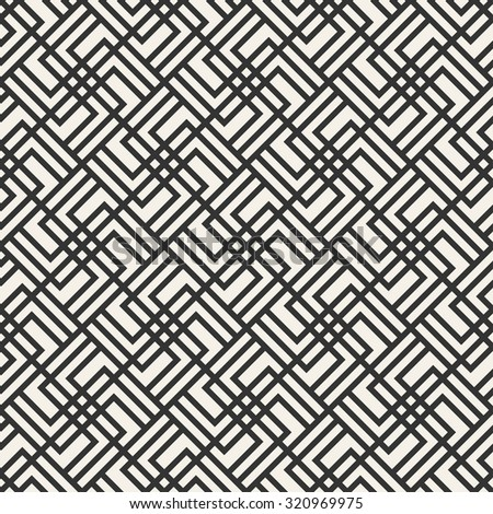 abstract geometric modern vector seamless pattern monochrome endless texture use for wallpaper, web page, background, decoration, design, paper, fabric