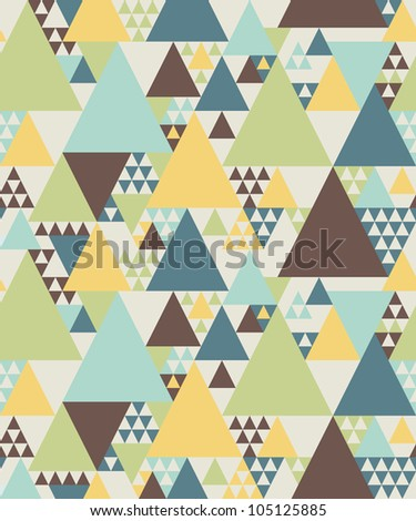 Abstract geometric pattern #2 - stock vector