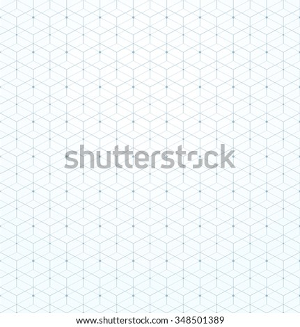 Abstract geometric pattern. A seamless vector background. Light texture. - stock vector