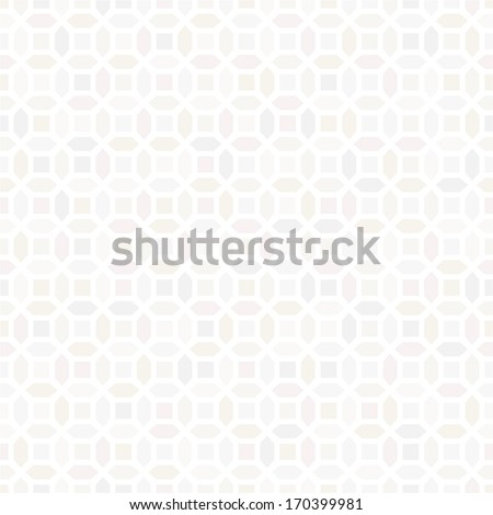 Abstract geometric pattern. A seamless vector background. White texture. - stock vector