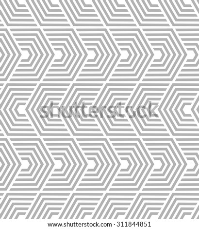 Abstract geometric pattern by lines. A seamless vector background.  - stock vector