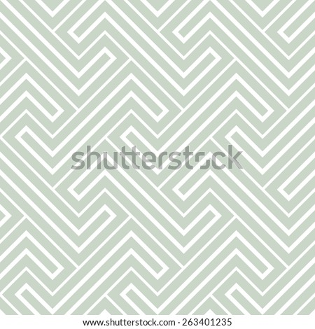 Abstract geometric pattern by stripes, lines. A seamless vector background. Gray and white texture - stock vector
