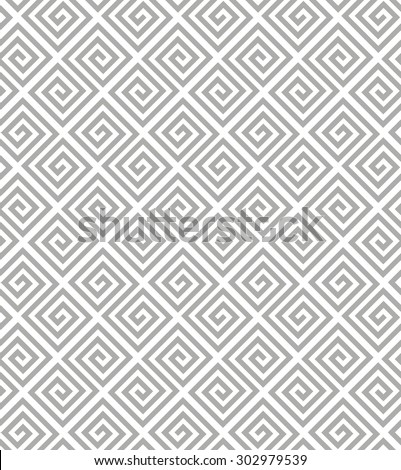 Abstract geometric pattern by stripes, lines. A seamless vector background. Gray and white texture