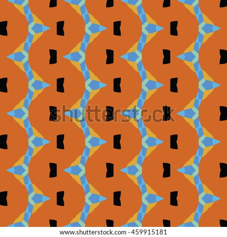 Abstract geometric pattern. Cloth design, wallpaper.