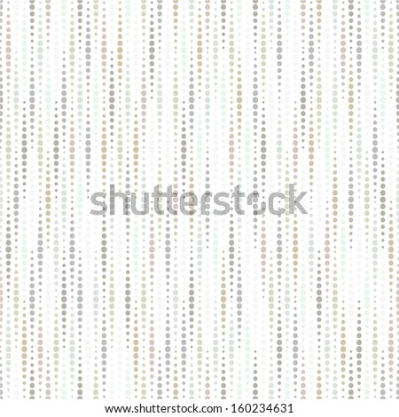 Abstract geometric pattern of the points. Seamless vector background. - stock vector
