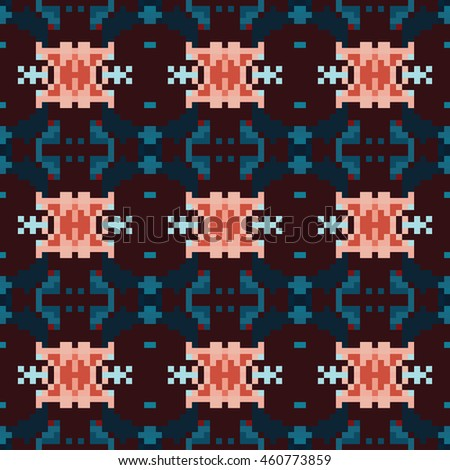 Abstract geometric pattern. Print, cloth design, wallpaper. Vector illustration.