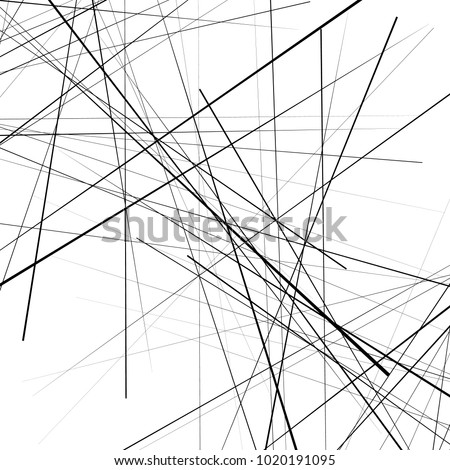 Abstract geometric pattern, texture. Random, chaotic pattern element