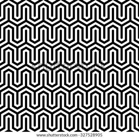 Abstract geometric pattern vector, chevron texture vector - stock vector