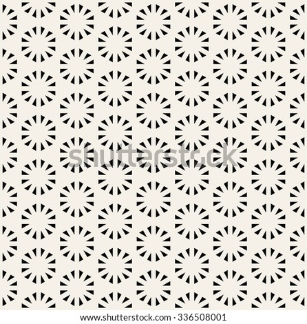 Abstract geometric pattern vector, sacred geometry - stock vector