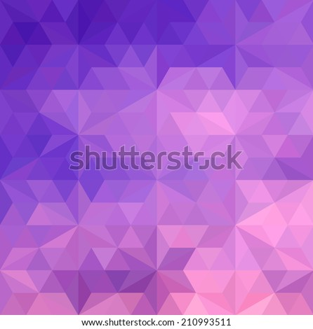 Abstract geometric pattern with for background, Vector - stock vector