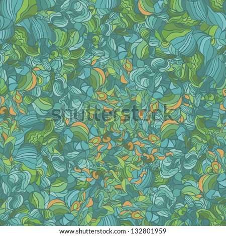abstract geometric pattern with swirls