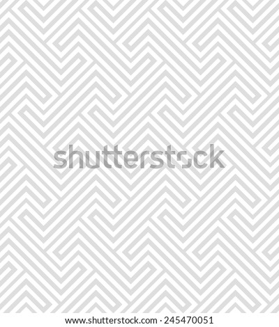 Abstract geometric patternby lines . A seamless vector background. Gray and white texture. - stock vector