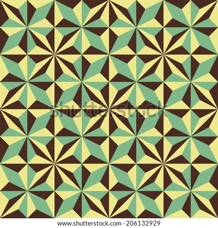 Abstract geometric polygonal background composed of triangles. Vector illustration.   - stock vector