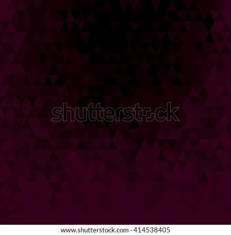 Abstract Geometric Purple Background. Vector Illustration. - stock vector