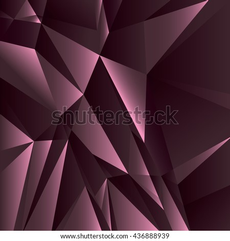 Abstract Geometric Purple Background. Vector Illustration. - stock vector
