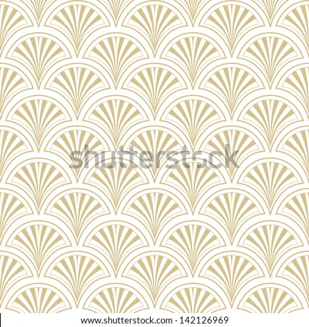 Abstract Geometric Retro Texture. Seamless pattern. Floral lightning ornament. Grey background - stock vector