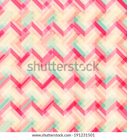 Abstract Geometric Seamless Pattern Background Vector Illustration - stock vector