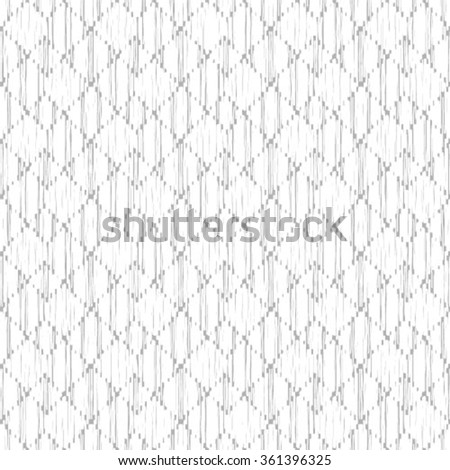 Abstract geometric seamless pattern. Black and white style pattern. - stock vector