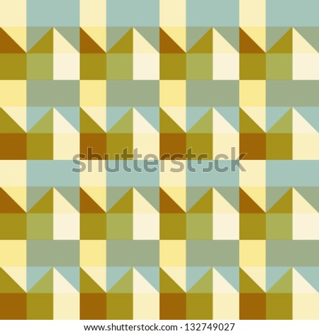 Abstract geometric seamless pattern. Colorful pattern.