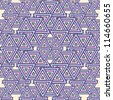 Abstract Geometric Seamless Pattern. Vector Background - stock vector