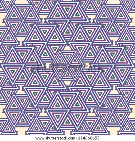 Abstract Geometric Seamless Pattern Vector Background