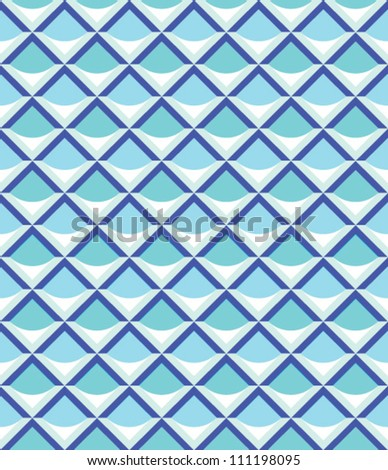 Abstract geometric seamless pattern with line.