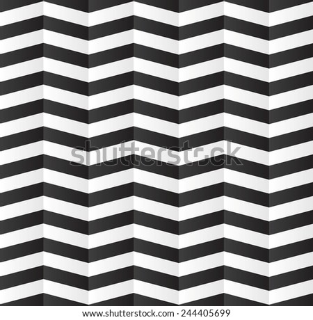 Abstract geometric stripes pattern design. Vector background - stock vector