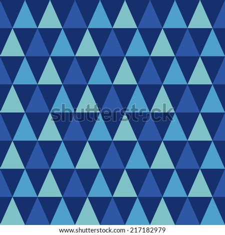 Abstract geometric triangle seamless pattern