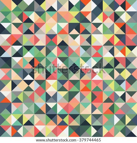 Abstract geometric vector pattern background