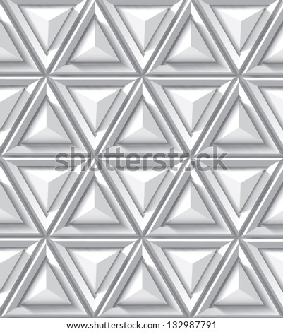 Abstract geometrical background with triangle - stock vector