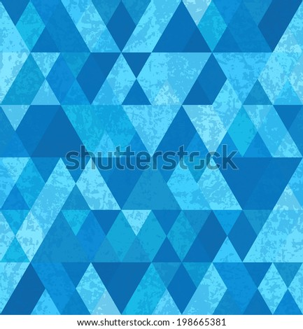Abstract geometry background with grunge texture.