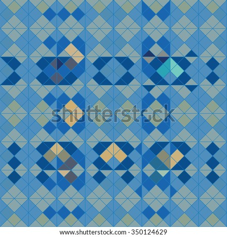 abstract geometry vector background pattern