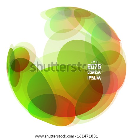 Abstract globe Vector illustration.  - stock vector