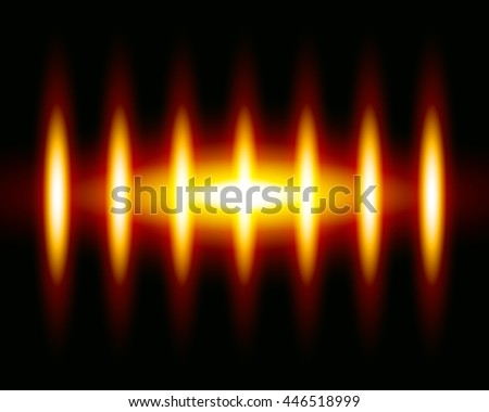 Abstract glowing background in sun shining colors