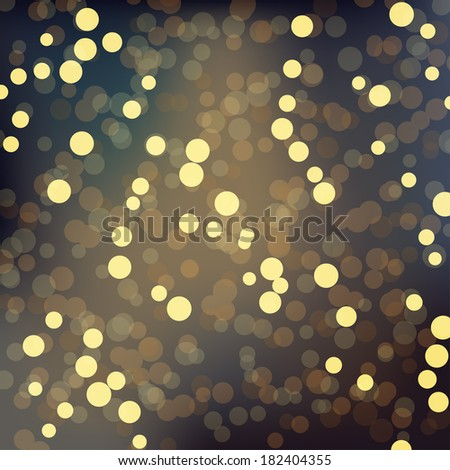abstract gold sparkles background
