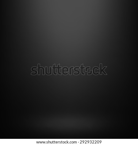 Abstract gradient black, used as background for display your products - Vector - stock vector