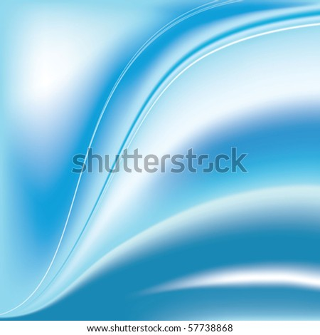 Abstract gradient wave vector background