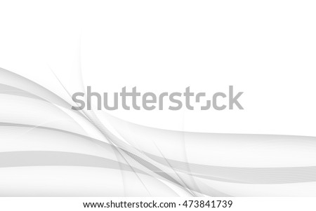 Abstract gray background with wave. Vector. Clip-art