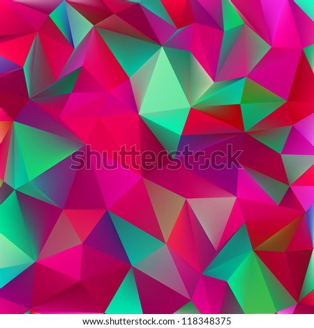 Abstract green and pink. EPS 8 vector file included - stock vector