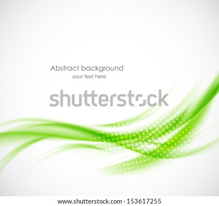 Abstract green background. Bright illustration - stock vector