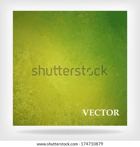 abstract green background vector, gold elegant vintage grunge background texture, lemon lime summer color, fresh clean spring color, green Christmas background design, green billboard sign, vector - stock vector