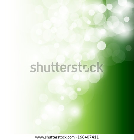 Abstract Green Background - Vector illustration, Graphic Design Useful For Your Design - stock vector