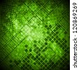 Abstract green grunge technical background. Vector design eps 10 - stock photo