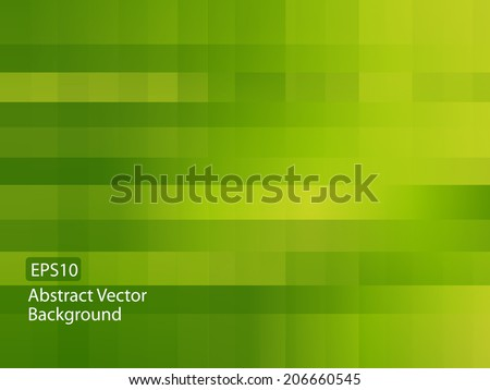 Abstract green random pixel background  - stock vector
