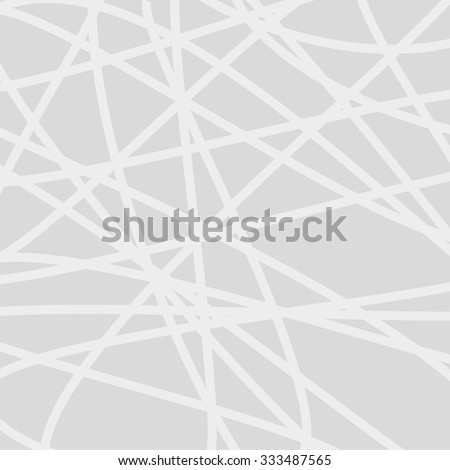 Abstract grey curved lines backdrop.  Vector background - stock vector